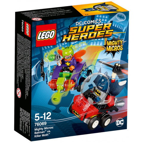 LEGO Super Heroes 76069 Mighty Micros: Batman™ vs. Killer Moth™