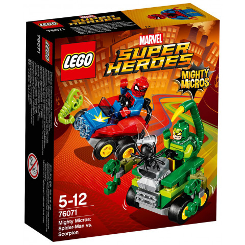 LEGO Super Heroes 76071 Mighty Micros: Spiderman vs. Škorpion