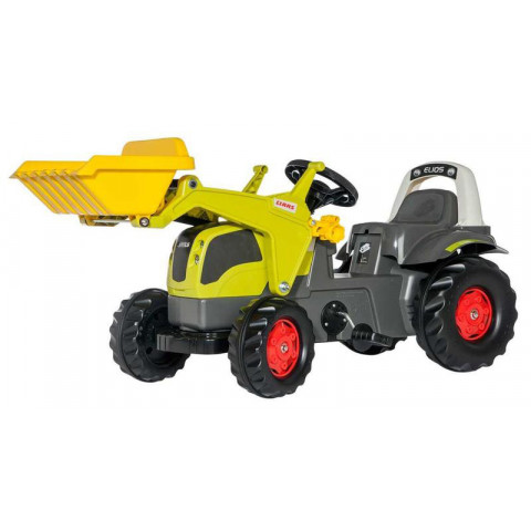 Šlapací traktor Rolly Kid Claas Elios - Rolly Toys 025077